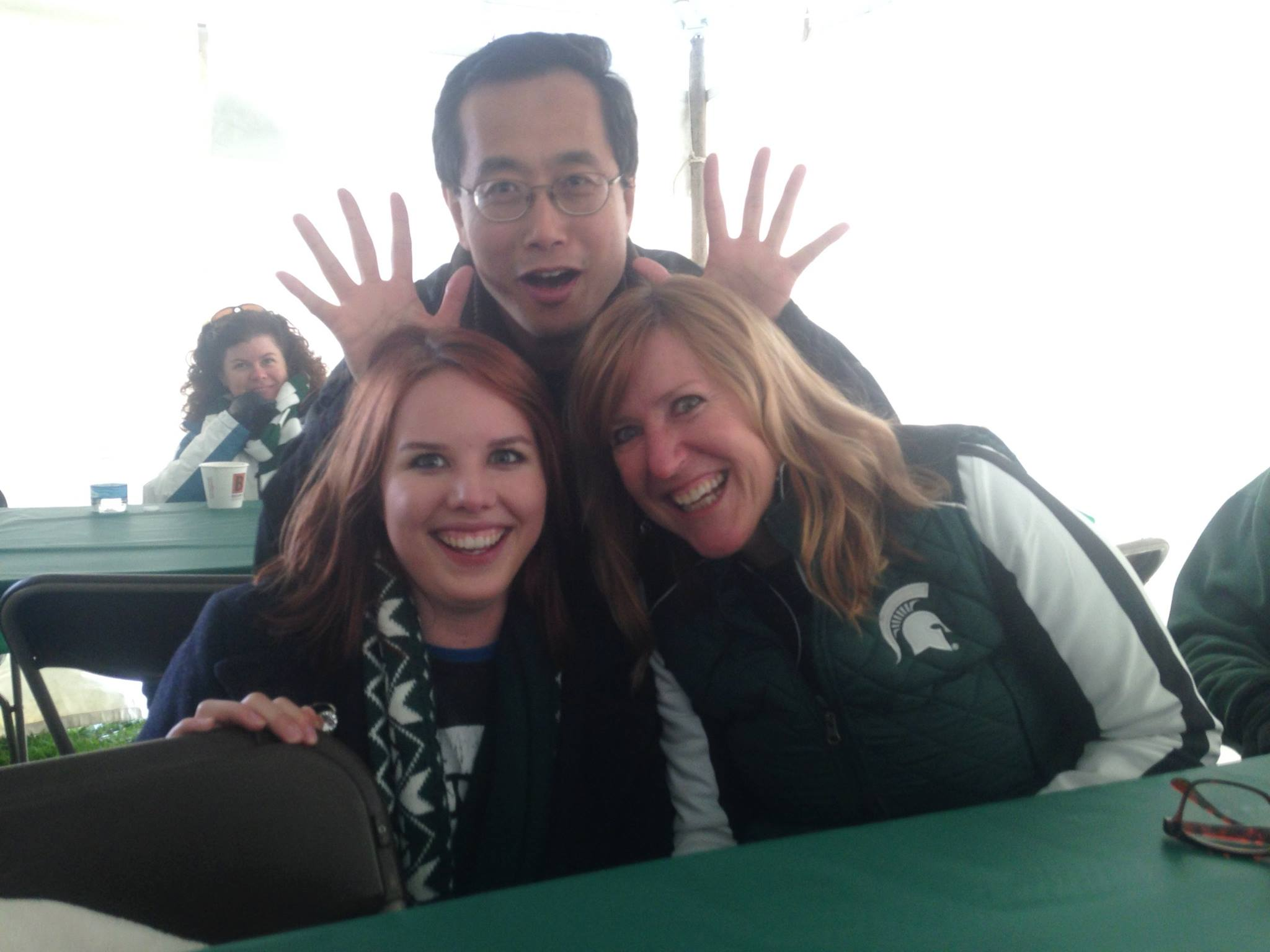 Wishing Marcy Heberer happy trails after 14 years with MSU